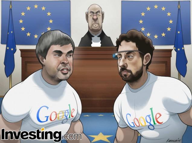 La procédure lancée par l'UE pour abus de position dominante va-t-elle avoir un impact sur le cours de Google?