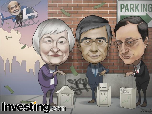 Globalne rynki finansowe biją kolejne rekordy w nadziei na zwiększenie poziomu stymulacji gospodarek. Czy rynki są zmanipulowane?