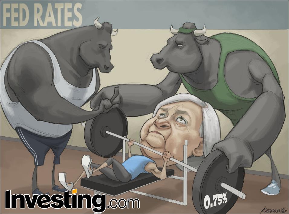 Рынки больше не верят в повышение ставки ФРС в этом году
