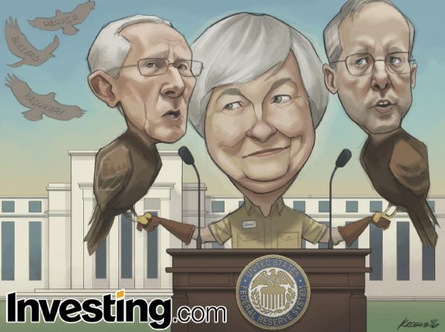 Η επικεφαλής της Fed, Γέλεν στέλνει ένα στρατό από γεράκια για να σηματοδοτήσει μια άνοδο επιτοκίων τον Ιούνιο