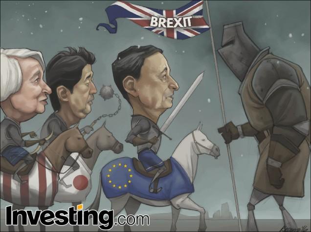 Irão os mercados globais recuperar enquanto os bancos centrais desenvolvem o estímulo depois do Brexit?