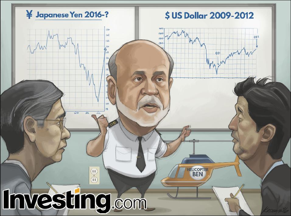 Ex-Fed Ben Bernanke leva seu conhecimento de estímulos para o Banco do Japão