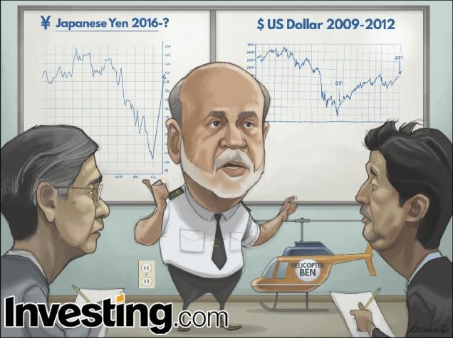 Fed Eski Başkanı Ben Bernanke parasal teşvik bilgeliğini BoJ'a taşıyor