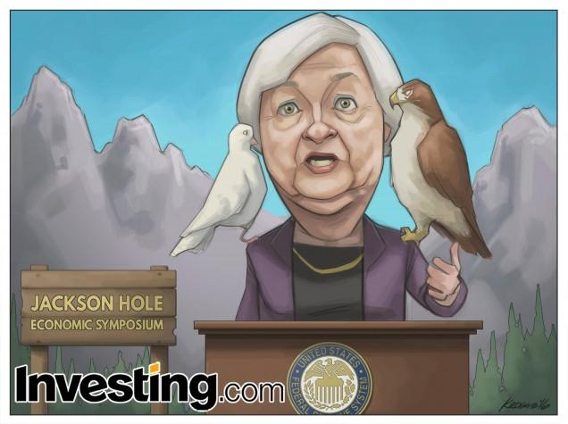 Gibt Yellen das Signal für Zinsanhebung im September oder siegt erneut die Vorsicht?