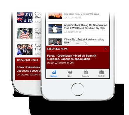 Breaking Financial News App