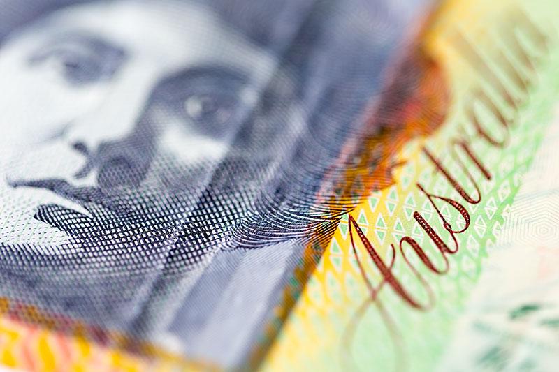 Aussie forex bank account
