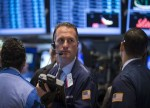 U.S. stocks lower at close of trade; Dow Jones Industrial Average down 0.29%