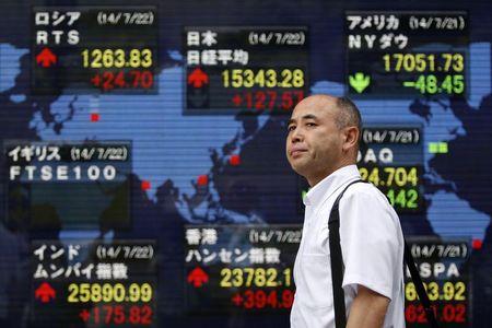 台灣股市:盤中走升並測試逾一年新高,得益於經濟數據改善
