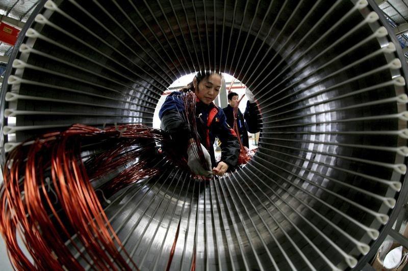 Индекс PMI в производственном секторе Китая: 50,4 при прогнозе в 50,4