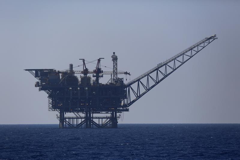 © Reuters.  Futures gas alam lebih tinggi pada masa dagang AS