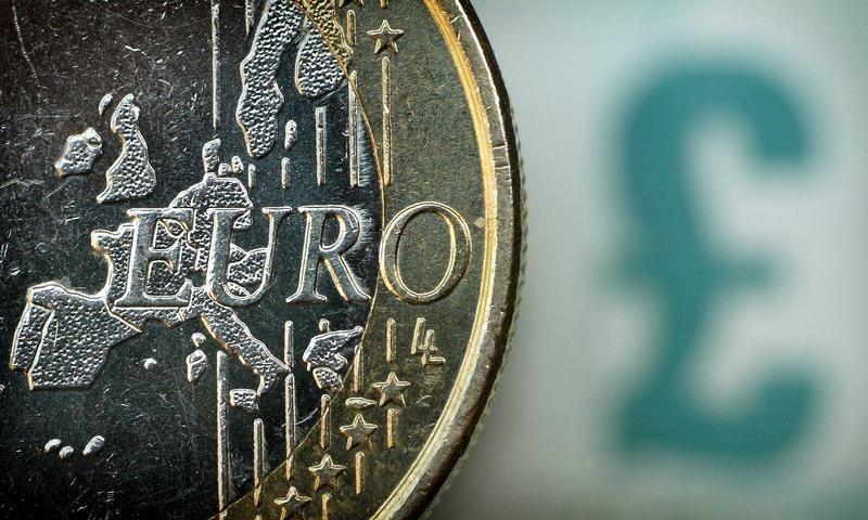 외환 - EUR/GBP 유럽 세션 동안 아래로