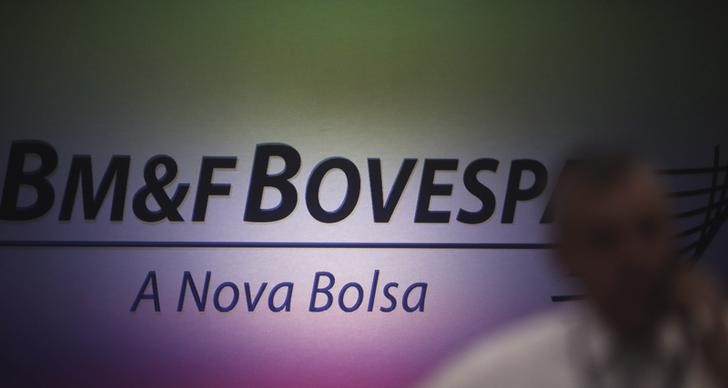 © Reuters. Brazil stocks lower at close of trade; Bovespa down 0.80%