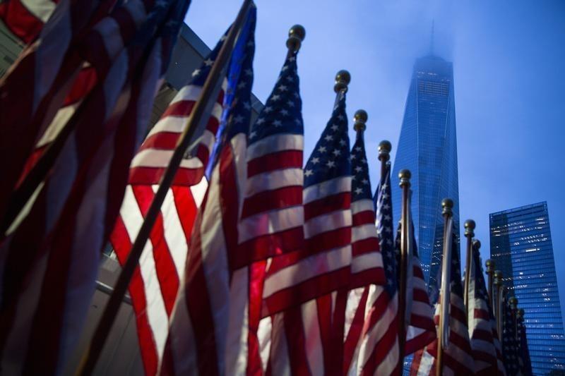 © Reuters.  Il PIL USA del primo trimestre delude le attese nonostante la revisione al rialzo