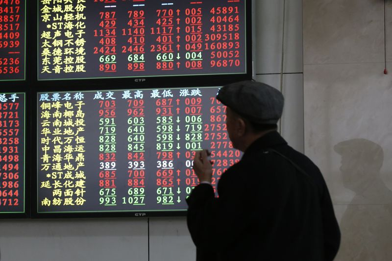 © Reuters.  Pasar-pasar Asia tutup lebih rendah; Nikkei turun 0.05%