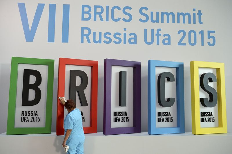 © Reuters. 'BRICS bank' says to issue bonds in members' local currencies