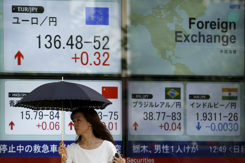 © Reuters. Dollar surges against yen after BoJ adopts negative interest rates in shock move