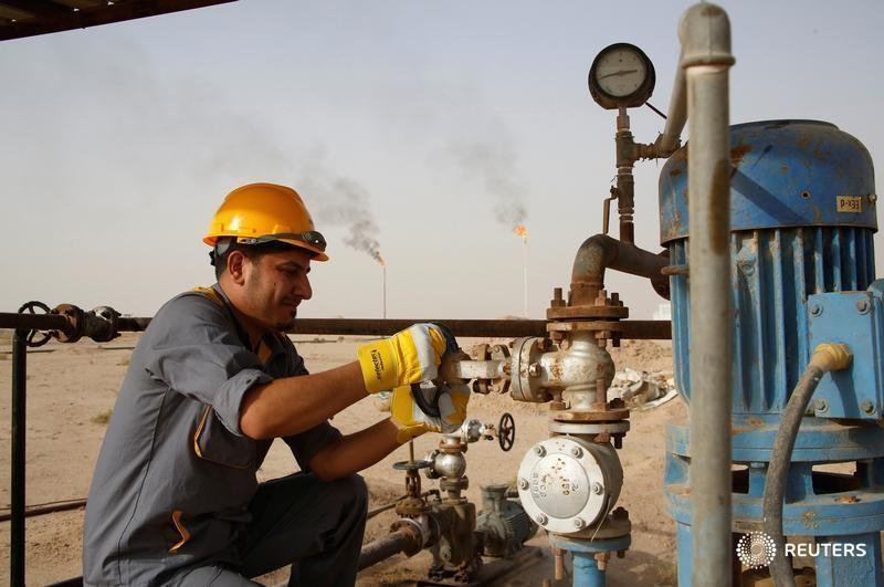 © Reuters.  Futures minyak mentah lebih tinggi pada jam perdagangan Asia