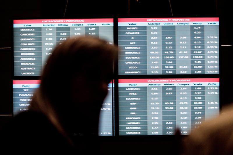 Рынок акций  Перу закрылся падением, S&P Lima General снизился на 1,34%