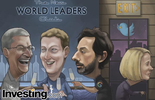 Quadrinhos: Apple, Google e Facebook dominam o mundo