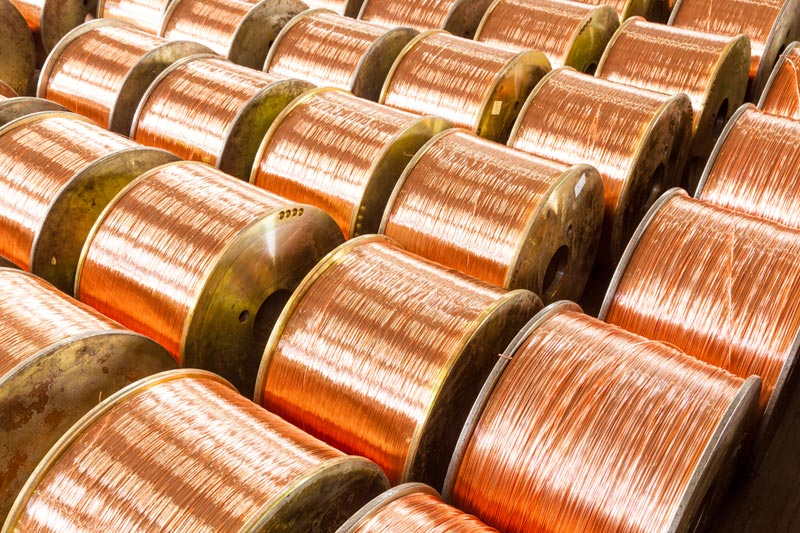 Copper weakens amid China property market jitters