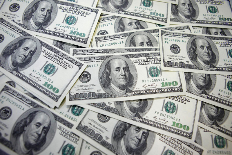 ЦБ РФ установил курс доллара США на сегодня в размере 62,4583 руб.