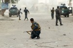 Afghanistan suicide blast kills 33, targets government workers