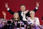 Polish opposition cheers presidential vote win, markets uneasy