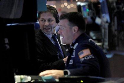 Wall Street setzte Rekordkurs zum Wochenschluss fort