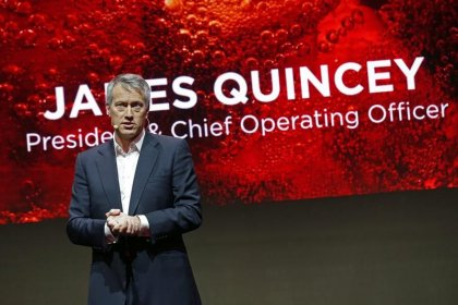 Coke CEO Muhtar Kent hands reins to Quincey in widely expected move
