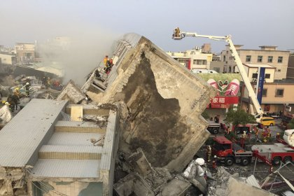Землетрясение на Тайване унесло 12 жизней