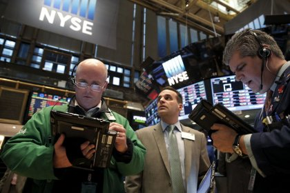Wall St. opens higher, led by energy, bank stocks