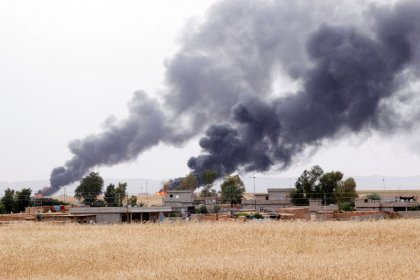 Explosions hit two oil wells in northern Iraq's Kirkuk: sources