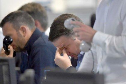 FTSE falters as easyJet, housebuilders and banks tumble