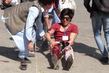 Mehr als 60 Tote bei Selbstmordanschlag in Kabul
