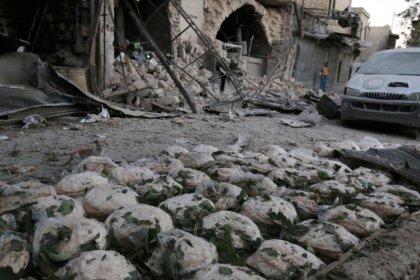 Feldlazarett im syrischen Aleppo unter Beschuss