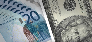Forex - EUR/USD drops as dollar gains on solid inflation data