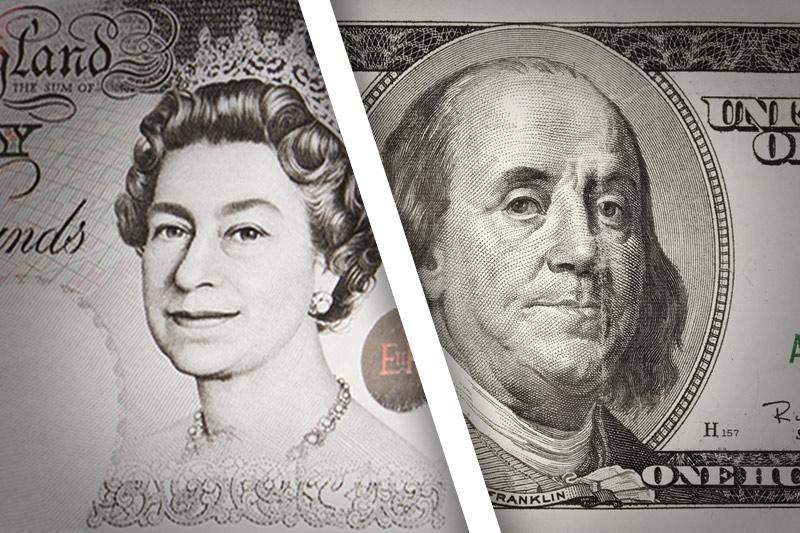 Форекс - Курс GBP/USD снизился к закрытию американских торгов