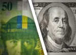 Dollar gains more than 1.5% against Swiss franc, after SNB policy shift