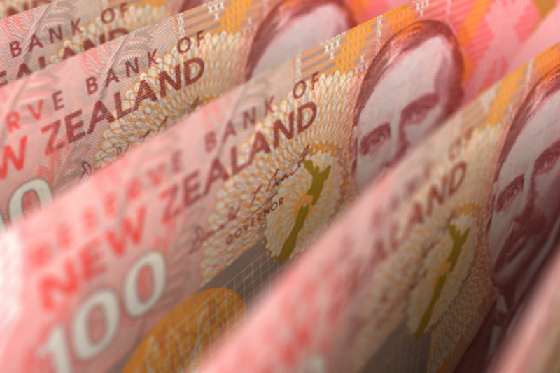 Aussie little changed vs. greenback, kiwi loses ground