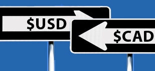 Forex - USD/CAD steady on upbeat US, Canadian data