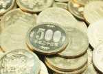 Forex - Yen gains as market sees month-end data sets as broadly positive