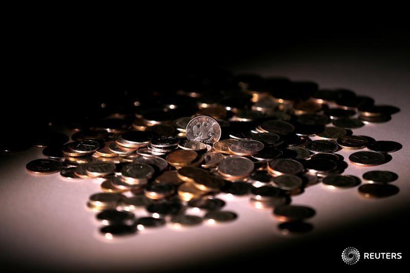 Рубль в небольшом минусе при низкой рыночной активности
