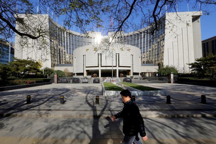 © Reuters. المركزي الصيني يختار بنك مقاصة لمعاملات اليوان بالإمارات
