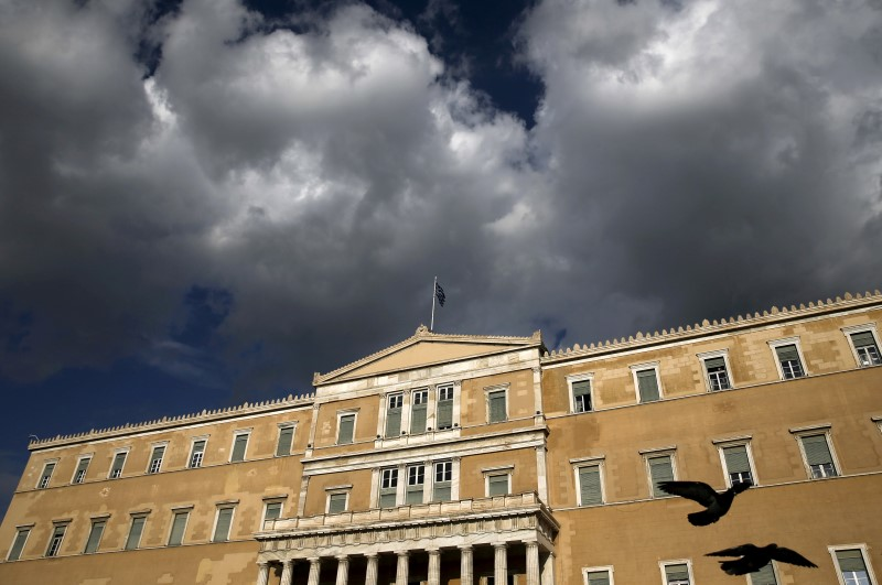 Greek parliament to vote on tax, pension reforms before Eurogroup meeting