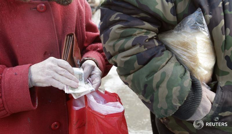 Недельная инфляция в РФ ушла с нулевой отметки