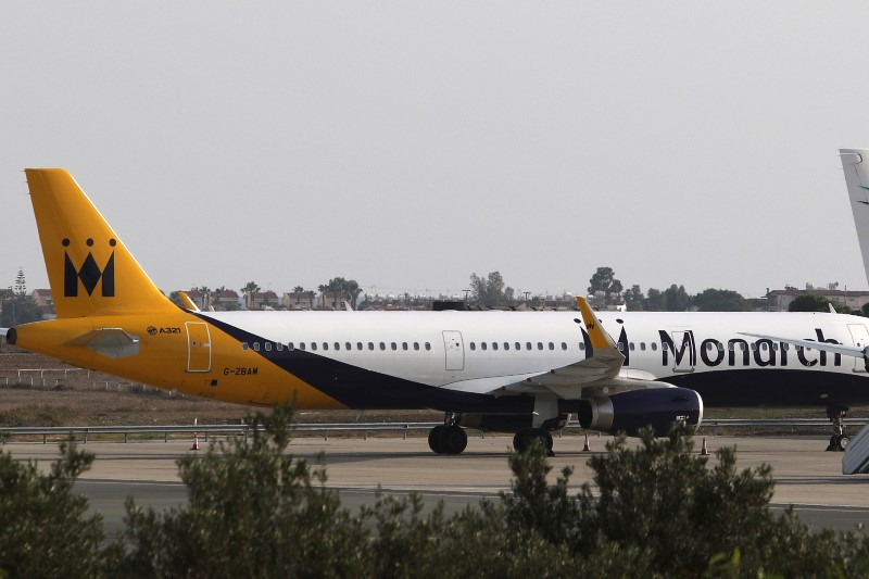 UK airline Monarch denies speculation it is in financial trouble