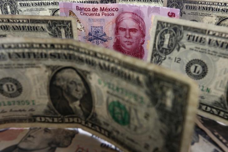 Мексиканский песо достиг 6-недельного пика после президентских дебатов в США