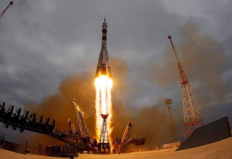 تلفزيون ناسا: مركبة روسية تلتحم بمحطة الفضاء الدولية
